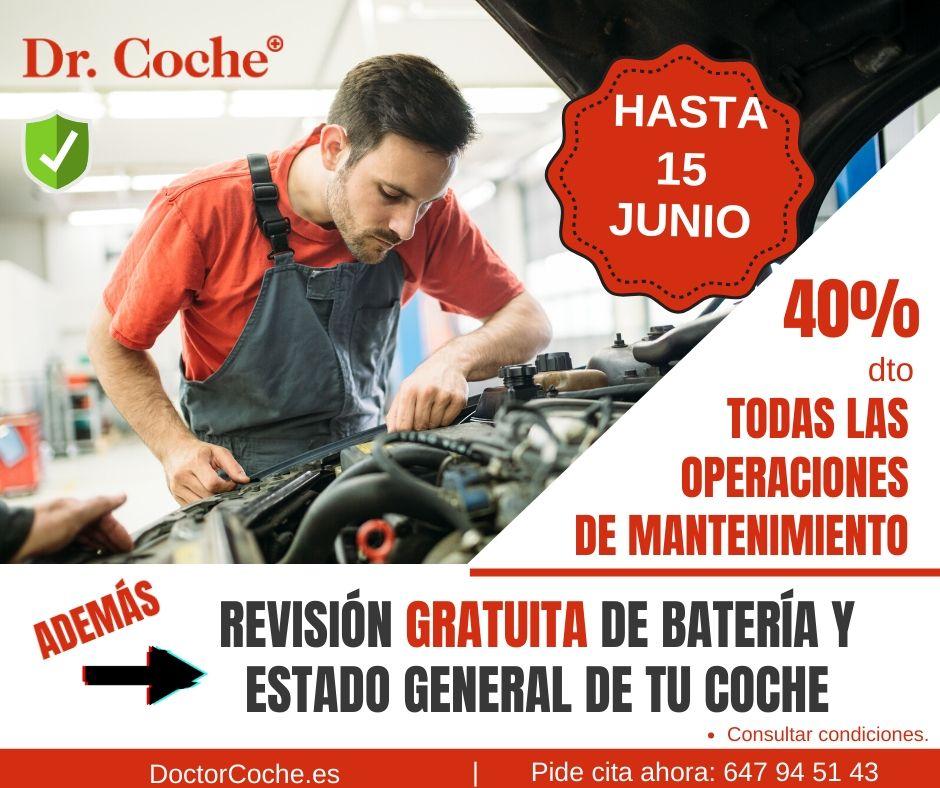 descuentos y promociones taller mecanico en madrid